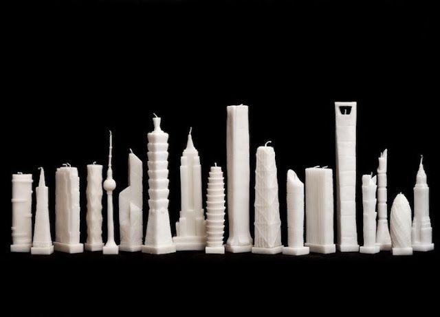 Ars City: L'oggetto del desiderio della settimana:Skyscraper candles