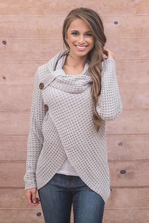 This cozy sweater is perfect for staying warm and stylish this season!