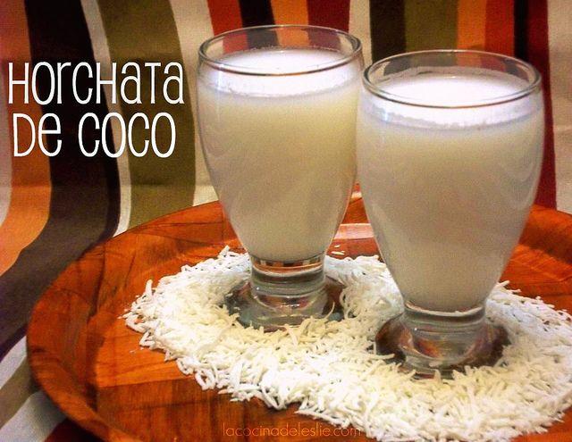 Horchata de Coco {Coconut Horchata}