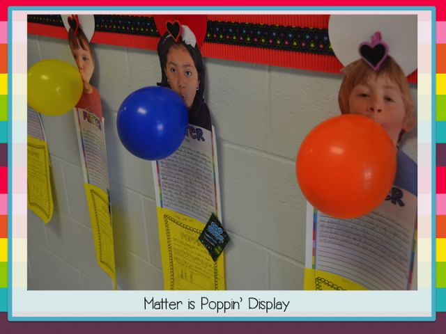 2nd Grade Shenanigans: As a Matter of Fact {New Unit!!!};  GLE 0207.9.3 Recognize that air takes up  space