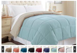 Reversible Down-Alternative Comforter As Low As $24.99 Shipped (Reg. $134.99)!