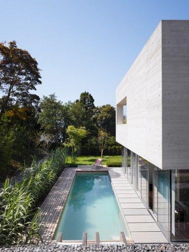 Zimmermann House / SAM Architekten und Partner Lap pool