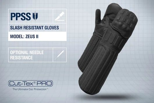 PPSS #SlashResistantGloves (Zeus II) with optional #needleresistance