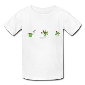 Kids' T-Shirt - Victor Paper Airplane