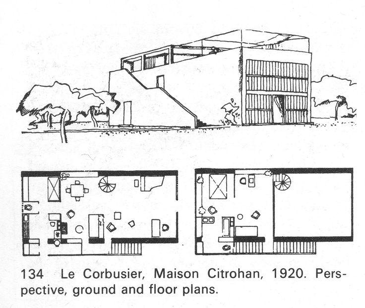 Maison citrohan france google search corbu pinterest for Google plan maison