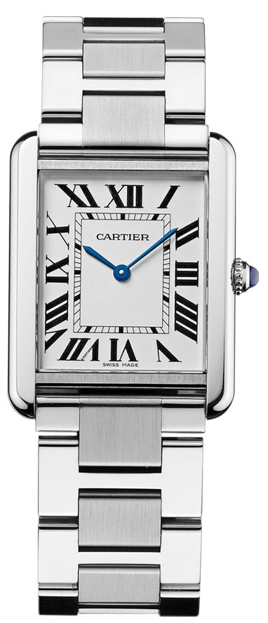 Cartier Tank Solo Steel Quartz Watch W5200014 £1850  http://www.cohenandmassias.com/product/cartier/tank-solo-steel-quartz-watch-w5200014/316/?bid=5