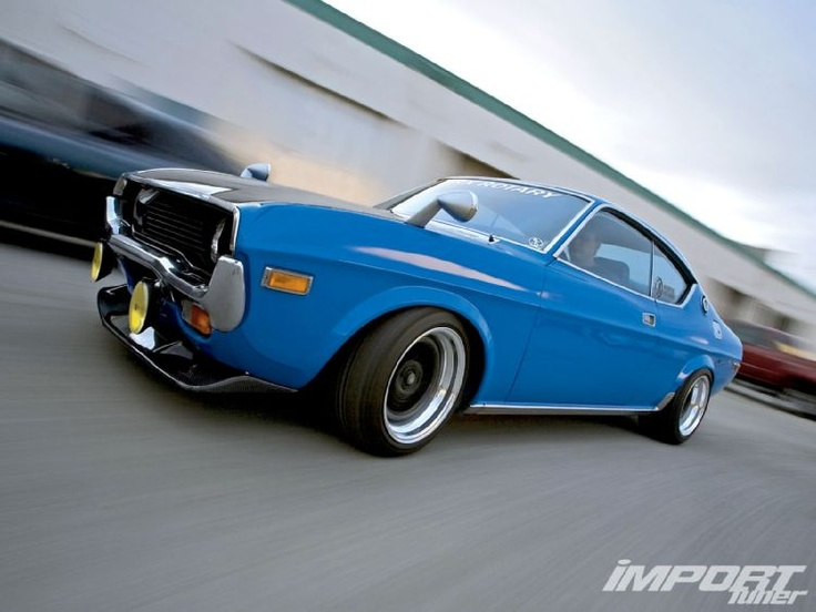 Love the Blue on this Mazda RX-4