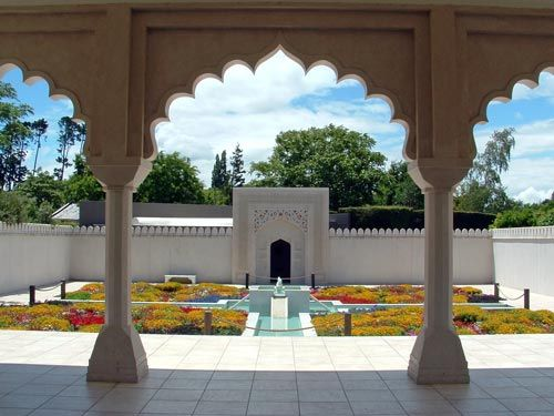 The India Garden at Hamilton Gardens, NZ
