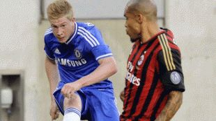 Chelsea against Madrid in the Final