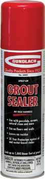 Gundlach GS02/GS03 Grout Sealer l Floor Source & Supply l Installation Tools l Grout Supplies