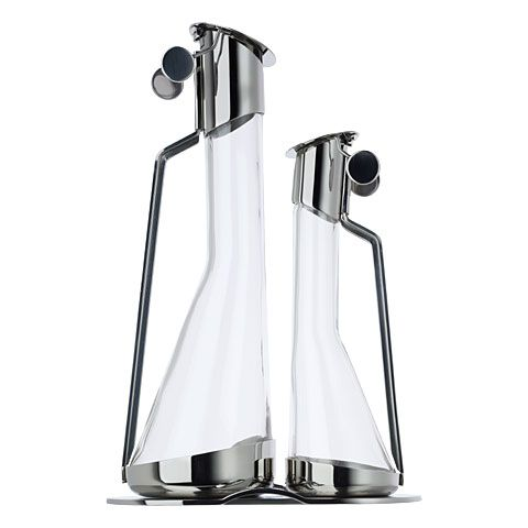 "Achille Castiglioni ""AC01 - oil and vinegar set"" by ALESSI"