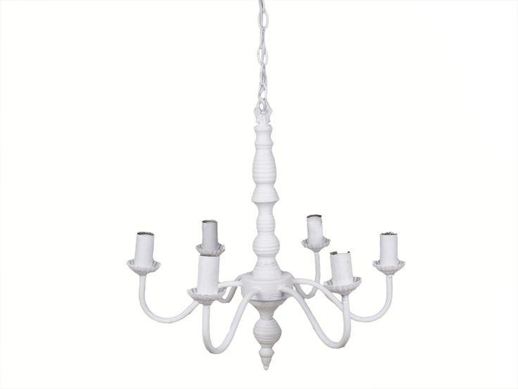 Klasyczna lampa sufitowa 6 ramienna Aniela lovelypassion.pl #shabbychic #vintage #country #shop #decor #home #dom #dekoracja #inspiration #beautiful
