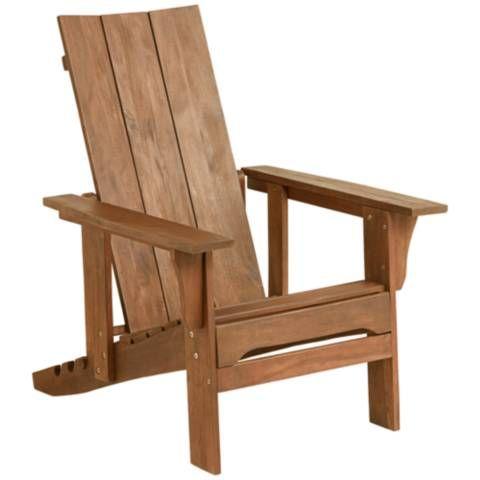 Modern Adirondack Adjustable Back Chair 33m38 Lamps Plus