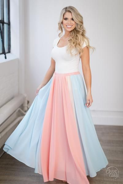 Magnolia Meadows Maxi Skirt - Closet Candy Boutique
