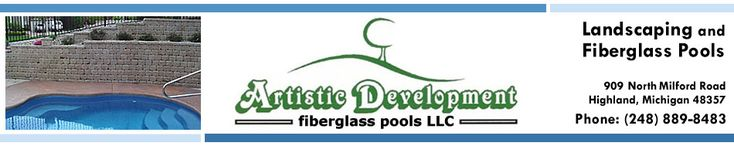 Novi, Milford, MI. Inground Swimming Pools, Fiberglass Pools, Michigan. Photos, Pictures, Designs of Inground Fiberglass Swimming Pools, Hig...