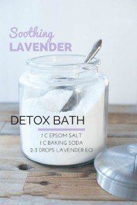 Essential Oil Detox Bath Recipes. I have tried this and i feel so rejuvenated and refreshed!