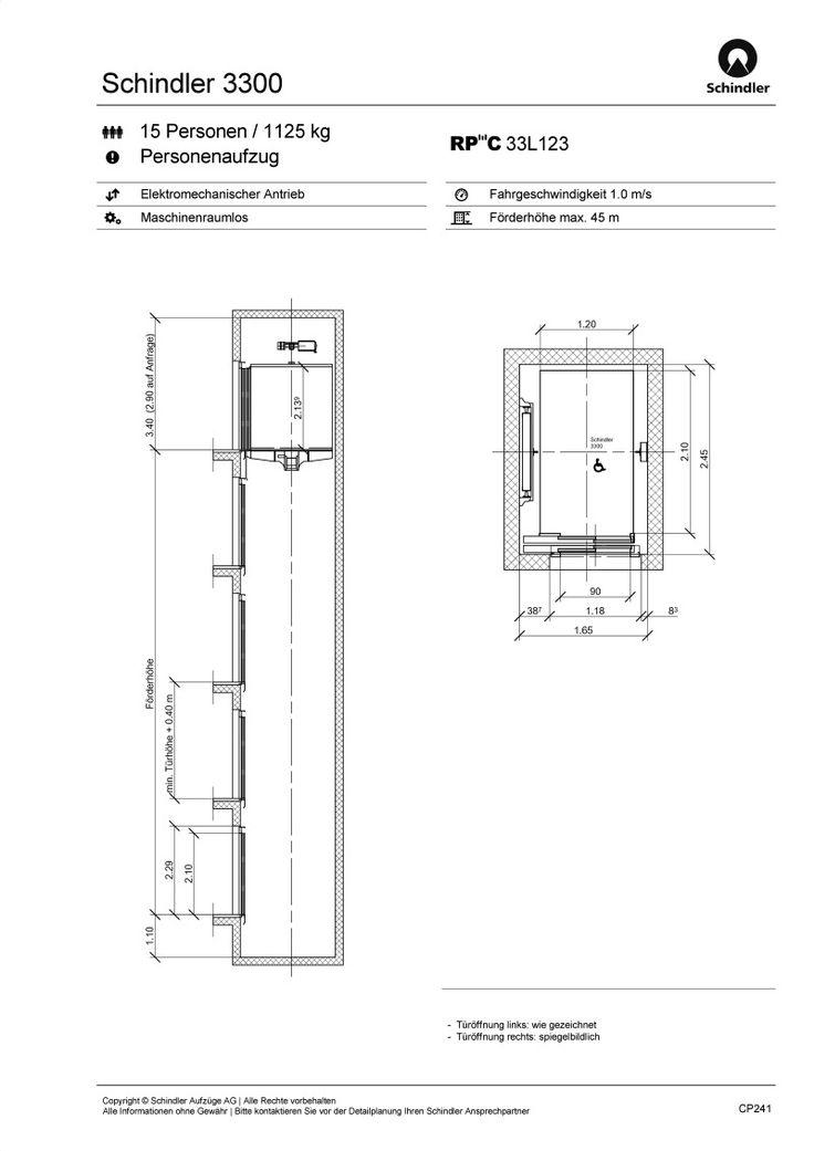 Schindler 3300 lang Lift Pinterest