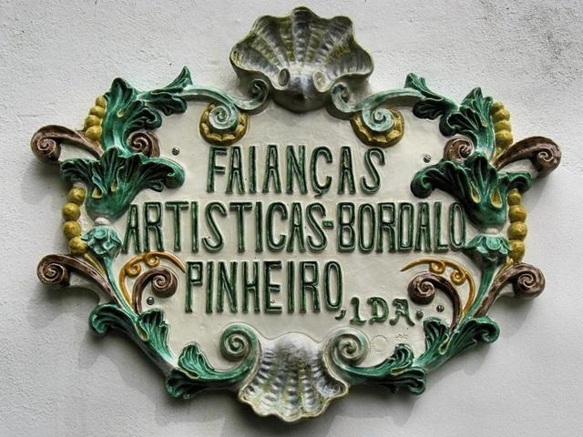 Faianças Artísticas Bordalo Pinheiro