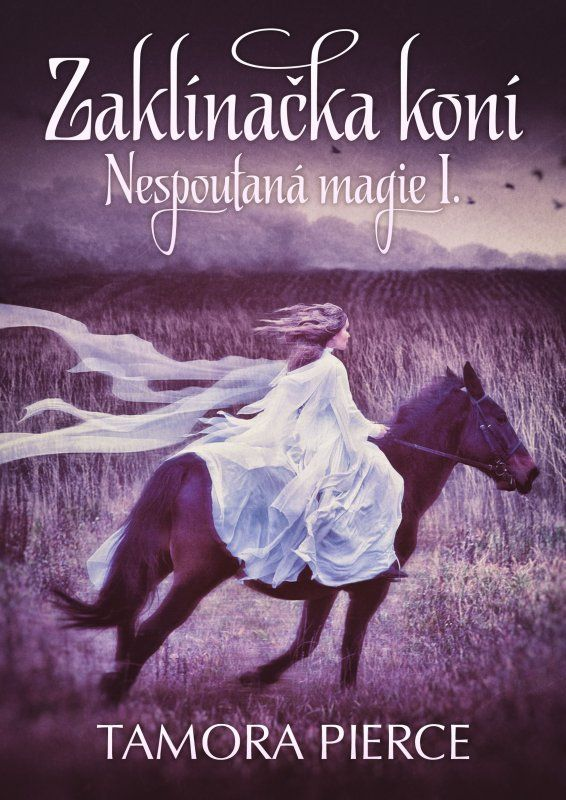 Czech cover of the book Wild Magic by Tamora Pierce.
