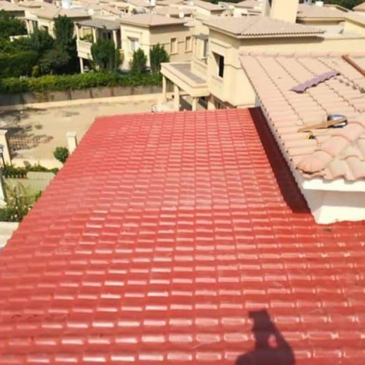 سقف القرميد قرميد بلاستيك 01101241000 الواح القرميد الصناعي اعمال قرميد اماكن القرميد صناعي Outdoor Decor Outdoor Outdoor Blanket