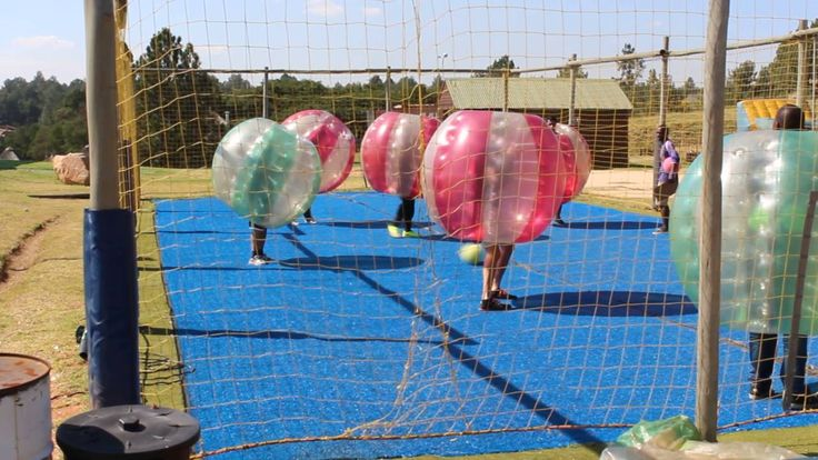 Bubble Soccer at Jozi X