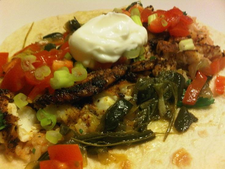 Blackened Tilapia Fish Tacos | MaiN DisHes | Pinterest
