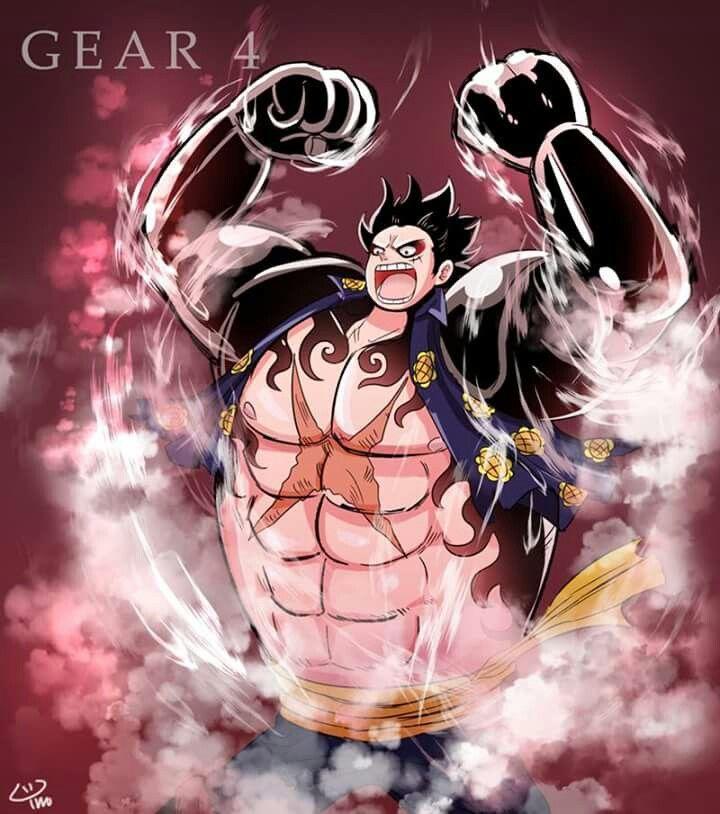 Luffy Gear 4 Tattoo: Luffy - Gear 4