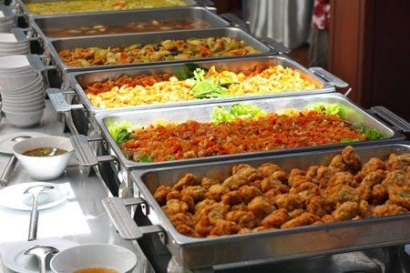 Different dishes in a buffet system. | Indian buffet for ...