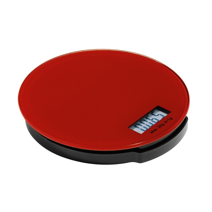Zing Kitchen Scale – 0807253 – Zing electronic kitchen scales have a 2kg weight capacity and LCD display. The scales are available in the full Zing colour pallet; lime green, hot pink, orange, blue, black, purple and red glass with black ABS base. The glass surface allows for easy cleaning and the compact scales can be easily stored between uses. With a tare function to zero the scale allowing you to add additional ingredients, it is ideal for using while baking.