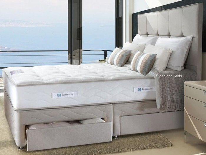 Sealy Millionaire Elite Very Firm 6ft Super King Size Divan Bed