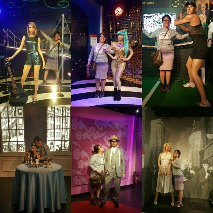 Final trip in Hong Kong in Madame Tussauds Gallery (21st August 2016).