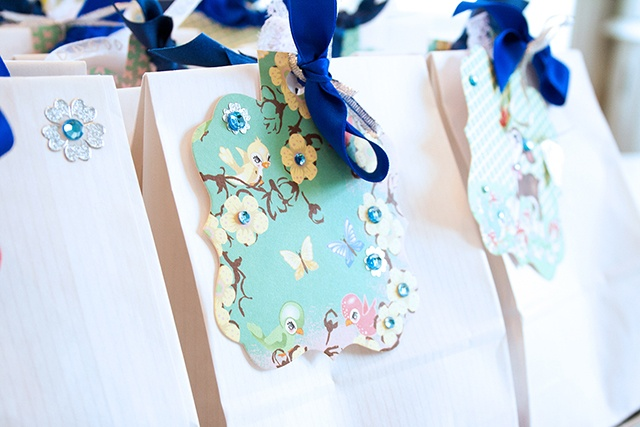 Birthday goodie-bags for little princesses