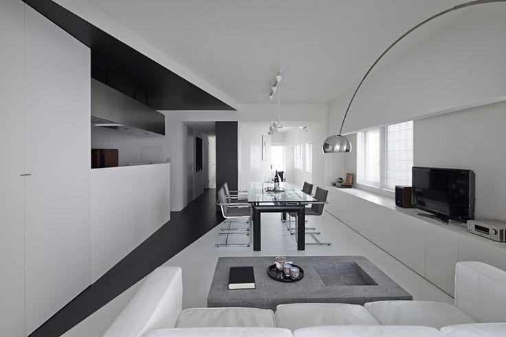 Witte woonkamer ideeën   Interieur inrichting - moodboard woonkamer ...