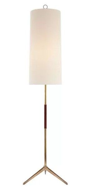This Frankfurt Pole Lamp is an elegant and minimalist touch to any living space. If you have a more distinctive style, visit Ruby Livingdesign to explore the unique designer floor lamps for sale. There's floor lamps for every taste in their Mill Valley showroom.