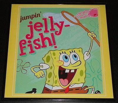 Spongebob Squarepants 2013 Framed 12X12 Poster Photo Jellyfishing @ niftywarehouse.com #NiftyWarehouse #Spongebob #SpongebobSquarepants #Cartoon #TV #Show