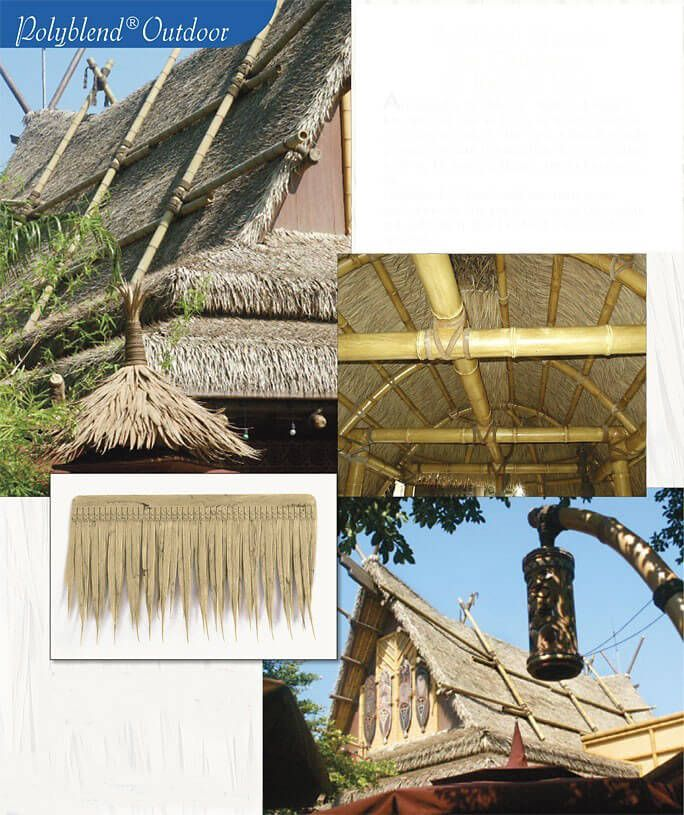 Uv Proof Outdoor Artificial Thatch Shingle 19 X11 Tiki Bar Decorations Tiki Bar Diy Outdoor Bar Bar Decor
