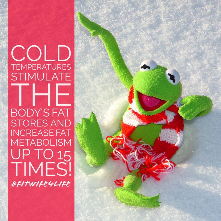 Cold temperatures stimulate the body's fat stores and increases fat metabolism by up to 15 times! #coldshower #weightloss #refresh #bridalicious #fitwife4life @fitwife4life