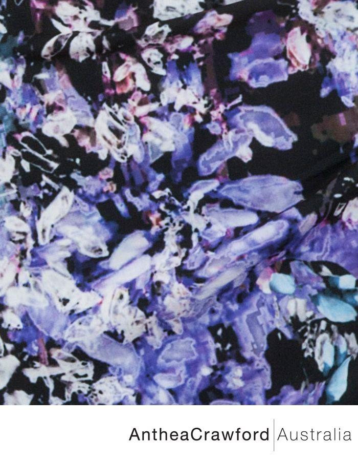 Orchid Digital Print AW14: Nightfall
