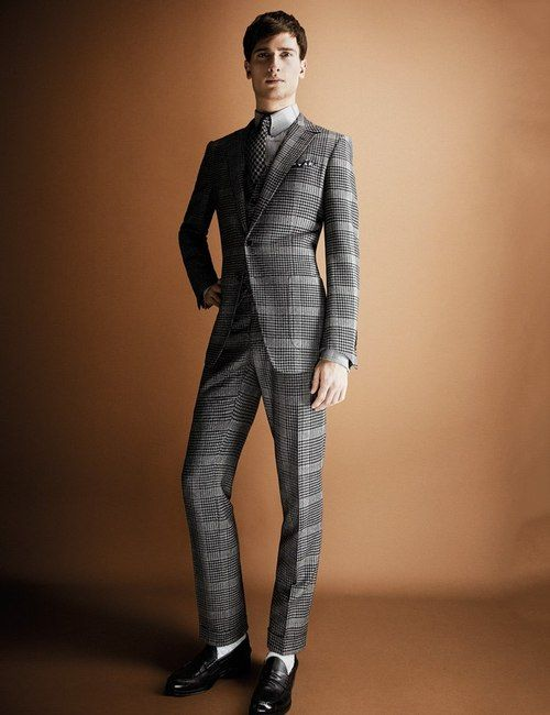 A dashing suit for any man.