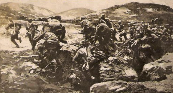Trench Warfare during the Greco-Turkish War of 1919–1922