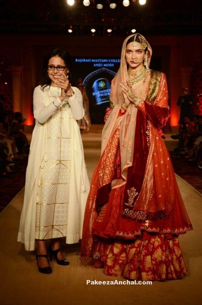 Deepika Padukone new Look in Sanjay Leela Bhansali's movie 'Bajirao Mastani' PakeezaAnchal.com