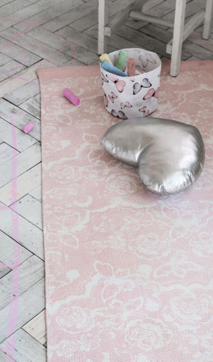 Roze zilver hout