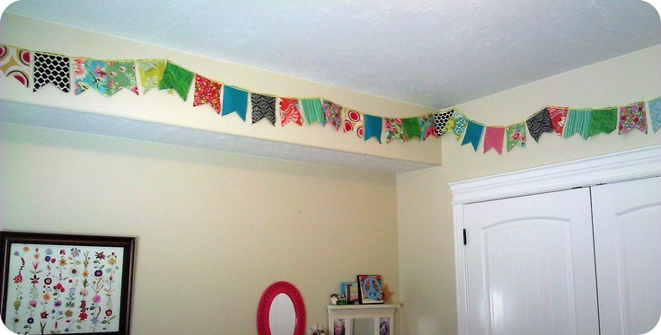 The Life of a Cheap Chickadee: 3 different Kids Room Buntings: Cheap Chickadee, Bubbas Kids, Life, Kids Bedroom, Decorating Ideas, Bedroom Decorating, Business Ideas, Room Buntings, Kids Rooms