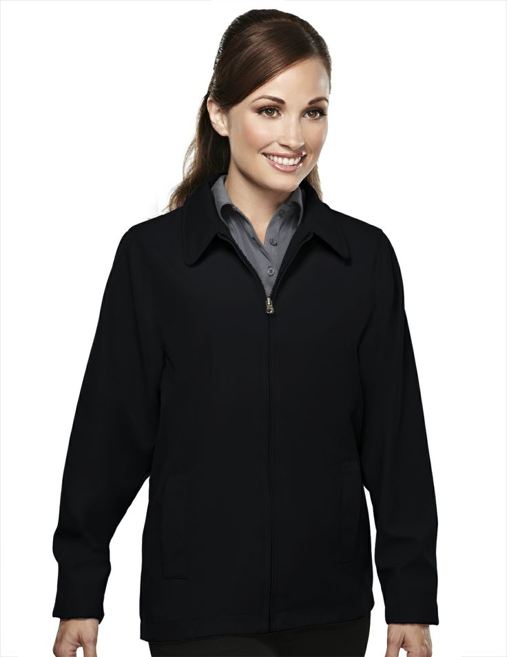 Women's Polyester Jacket Soft Twill With Nylon Lining  Style#: Tri mountain 2920 #twill #Jacket #Women #polyester #Trimountain #fashion #stylish