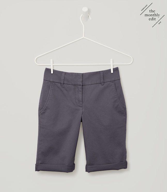 Bermuda Roll Shorts