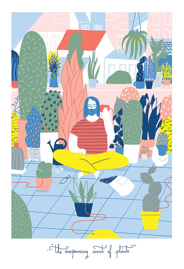 The Rest by Elda Broglio.  Elda Broglio is an illustrator and designer born and raised in Buenos Aires.  http://cargocollective.com/eldabroglio