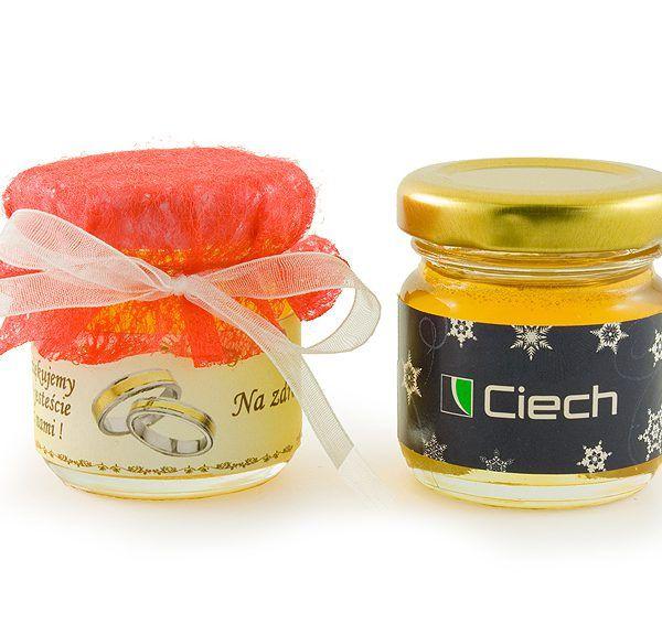 Vasetto di miele personalizzato con il tuo logo - alimenti personalizzati, cibo personalizzato, Dolci personalizzati, gadget matrimonio