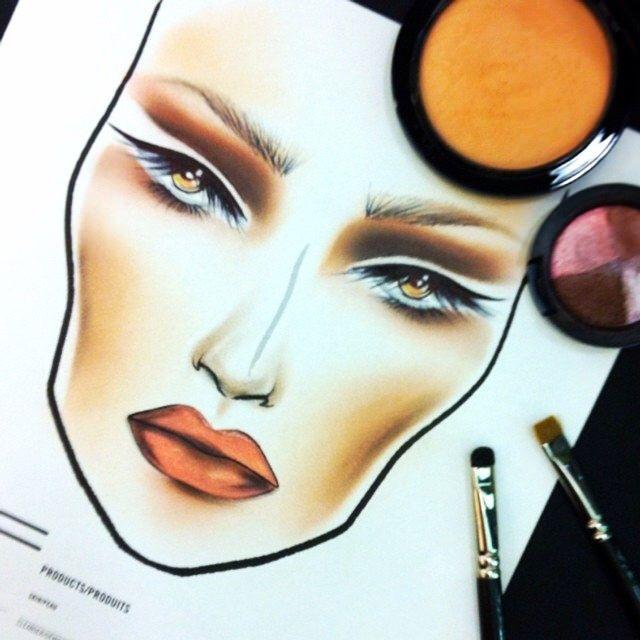 Mac Mineralize face chart today!!! Using:   #maccosmetics #macmineralize #maceyeshadows #4 #macblacktrack #macart #makeup #macmakeup #macmakeupartist #macboy #facechart #faces #passion #pabsartist #love #macchart #macmyerbondi #maccosmeticsaustralia