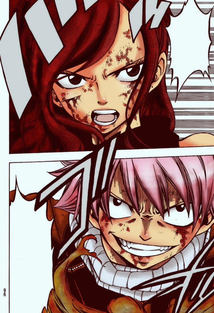 22 best natsu x erza images on pinterest fairytale - Image manga fairy tail ...