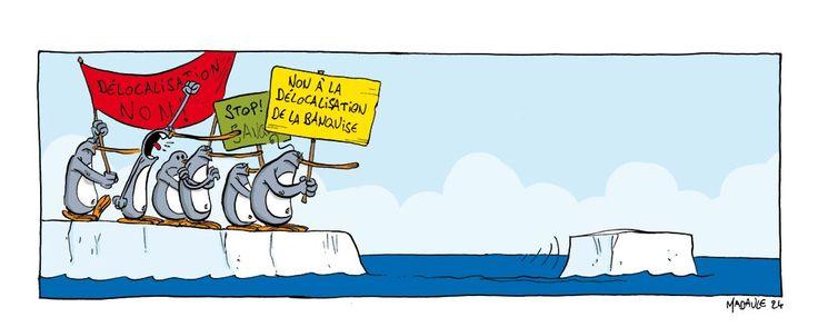 #EARTHHOUR - J-14 - Un gag par jour contre le réchauffement climatique.